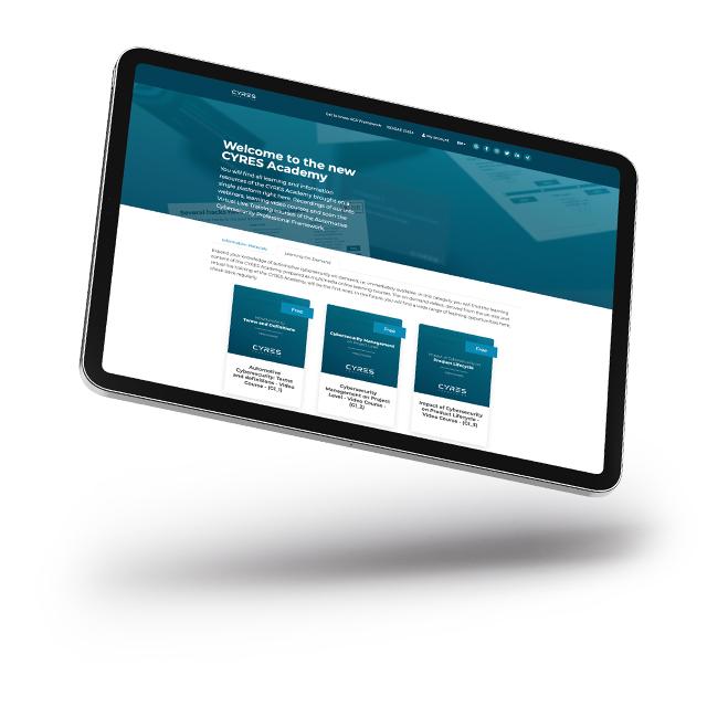 CYRES Academy Online Learn Platform